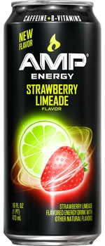 Amp Strawberry Limeade