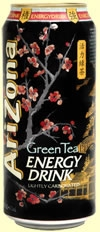 AriZona Green Tea Energy