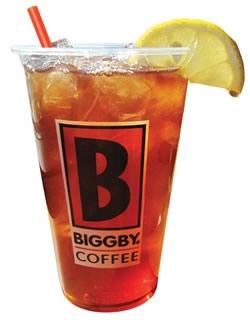 Biggby Iced Tea