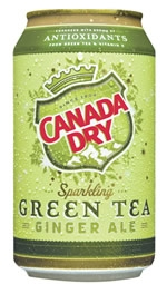 Canada Dry Green Tea Ginger Ale