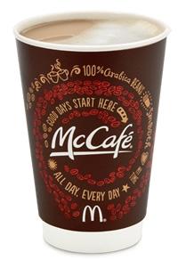 McDonalds McCafe Latte