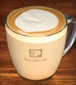 Peet's Caffe Latte