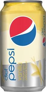 Pepsi Diet Vanilla