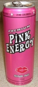 Pink Premium Energy Drink