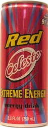 Red Celeste Energy Drink