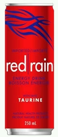 Red Rain Energy Drink