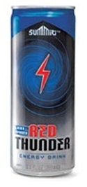 Red Thunder Energy Drink