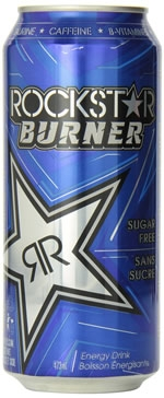 Rockstar Burner Energy Drink