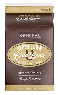 Stumptown Cold Brew + Milk