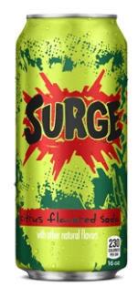 Surge Citrus Soda