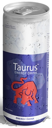 Taurus Energy Drink