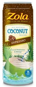Zola Coconut Water Espresso