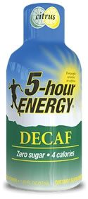 5 Hour Energy Decaf