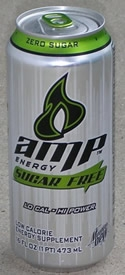 Amp Sugar Free
