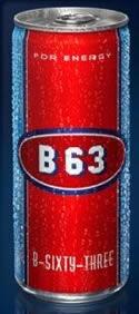 B 63 Energy Drink