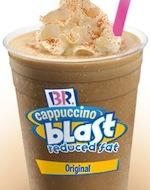 Baskin Robbins Cappuccino Blast