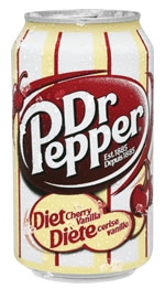 Diet Dr Pepper Cherry Vanilla