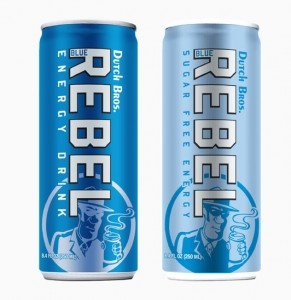 Dutch Bros. Blue Rebel Energy Drink