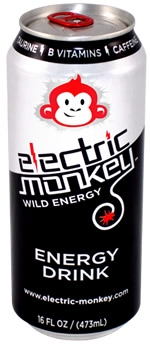 Electric Monkey Wild Energy Drink