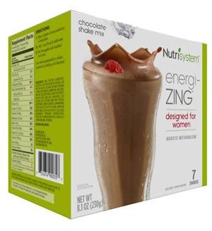 Nutrisystem Shake - Energi-ZING