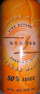 Liquid Z Juiced Energy Drink