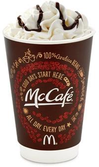 McDonalds McCafe - Mocha