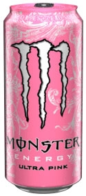 Monster Pink Energy Drink