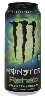 Monster Rehab Green Tea