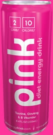 Pink Energy Drink