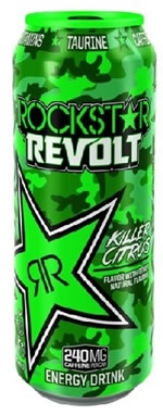Rockstar Revolt Energy Drink