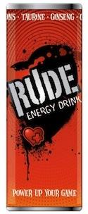 Rude Energy Drink