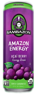 Sambazon Amazon Energy Drink
