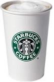 Starbucks Grande Caffe Latte