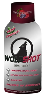 Wolfshot Hemp Energy Shot
